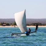 12. Sailing pirogue