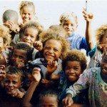 18. Group of Vezo children