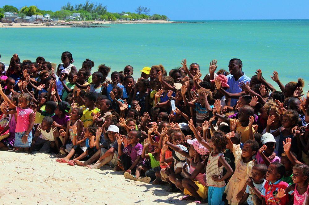 Ifaty school children