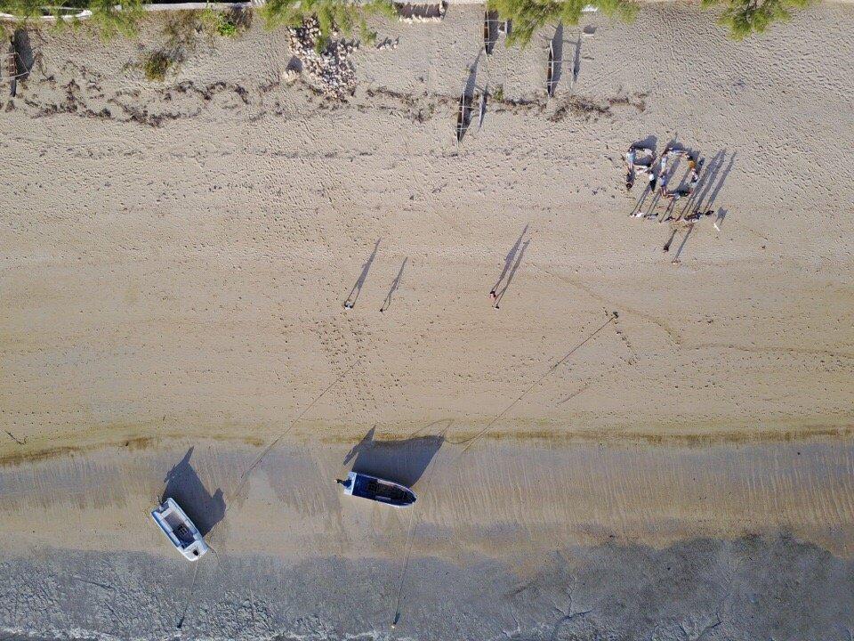 RD beach aerial shot