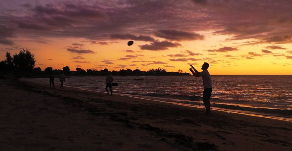 games at sunset