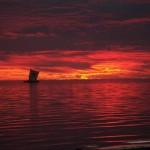 sunset pirogue sm