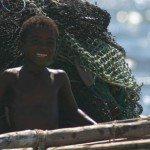 vezo child fishing